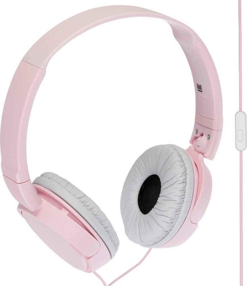 Sony »MDR-ZX110AP Faltbarer« On-Ear-Kopfhörer (Freisprechfunktion, integrierte Steuerung für Anrufe und Musik, mit Headsetfunktion)