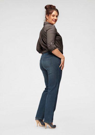 Arizona Straight-Jeans  mit bequemen Dehnbund  High Waist