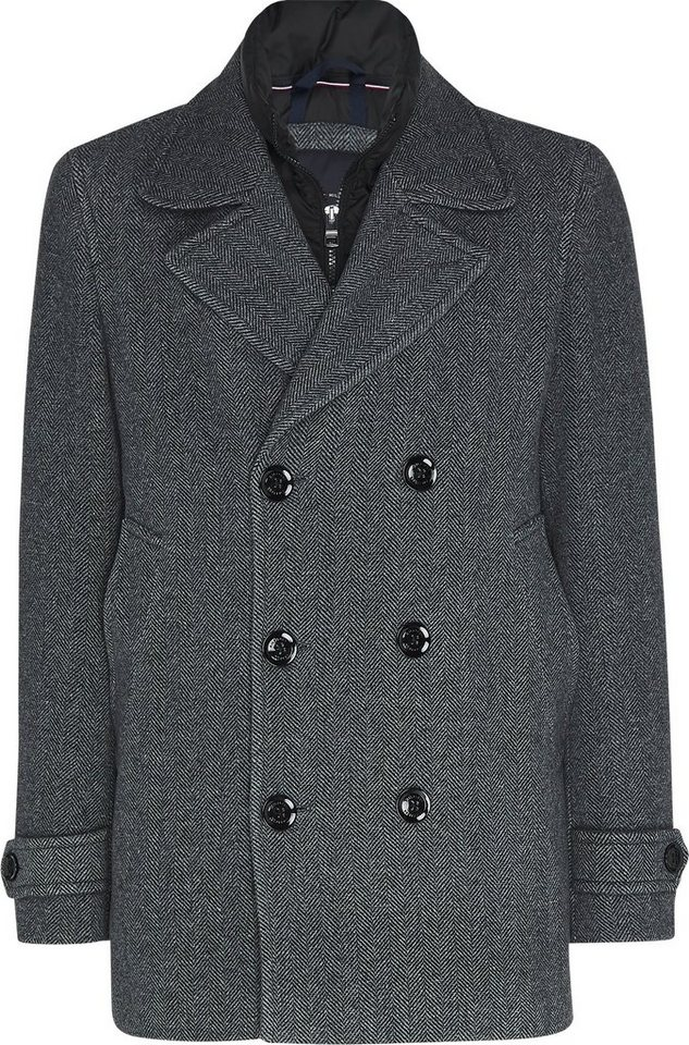 tommy hilfiger -  Wollmantel »PADDED PEACOAT«