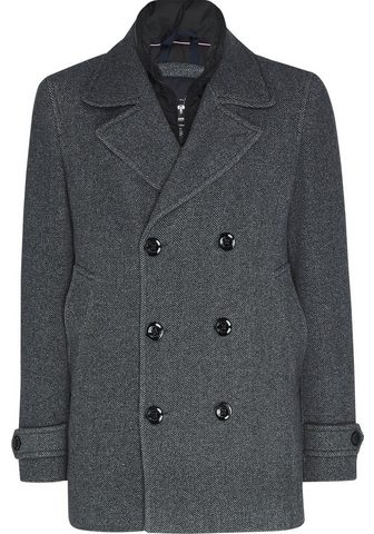 TOMMY HILFIGER Wollmantel »PADDED PEACOAT«