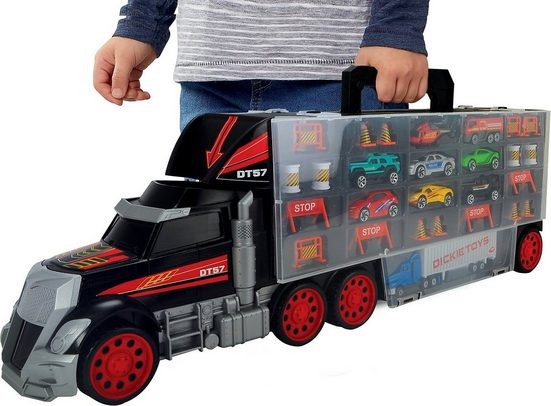 Dickie Toys Spielzeug-Auto »Truck Carry Case«