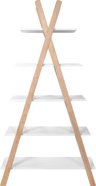 Küchenregale - Lüttenhütt Regal »Dolidoo«, in skandinavischem Look, Leiterregal für Kinder oder Jugendzimmer  - Onlineshop OTTO