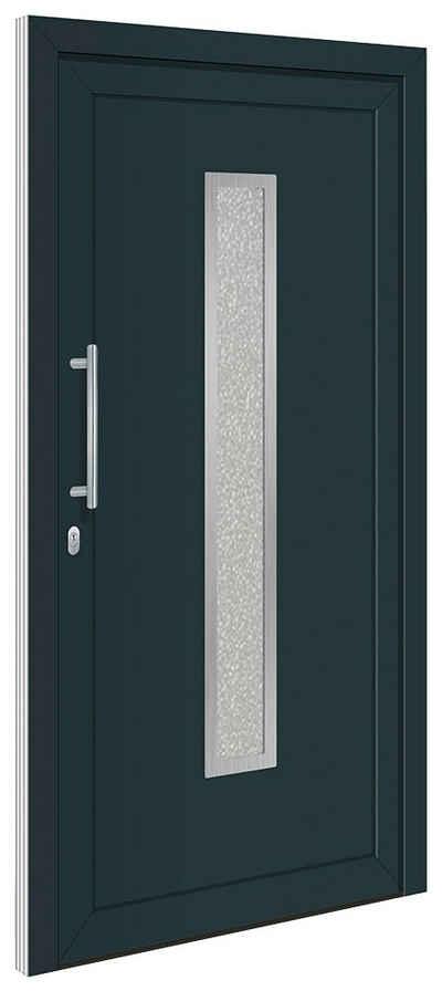 RORO Türen & Fenster Haustür »Otto 16«, BxH: 100x200 cm, anthrazit/weiß, ohne Griff