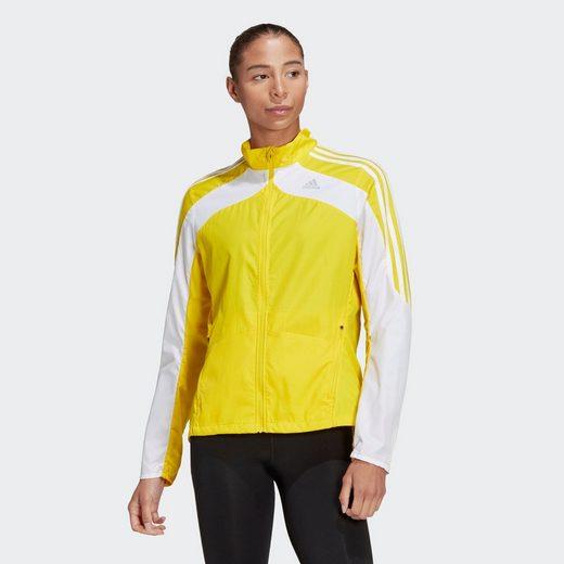 adidas Performance Trainingsjacke »Marathon 3-Streifen Jacke«