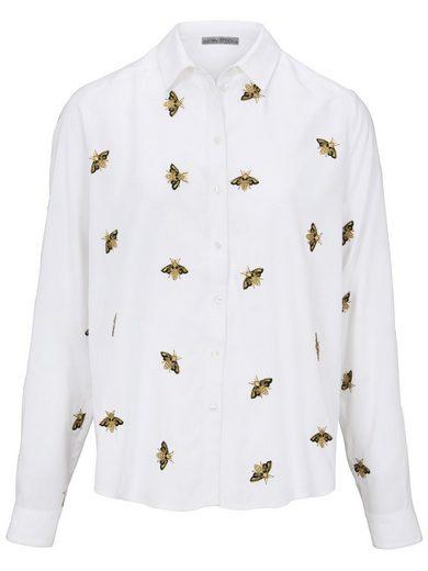 heine TIMELESS Bluse mit Bienen-Stickerei