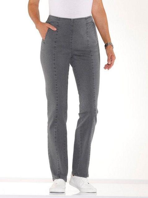Hosen - Classic Basics Bequeme Jeans › grau  - Onlineshop OTTO