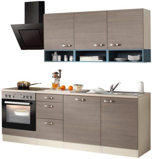 OPTIFIT Küchenzeile »Vigo«, mit E-Geräten, Breite 210 cm