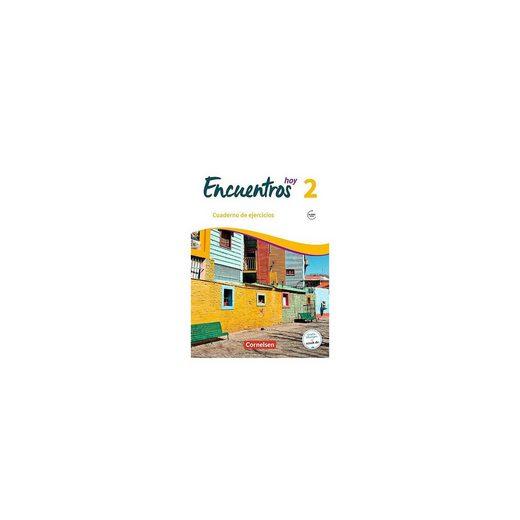 Cornelsen Verlag Encuentros hoy: Cuaderno de ejercicios mit Audios online