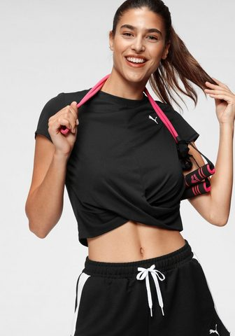 PUMA Crop-Top »Train Twisted Tee« madinga W...