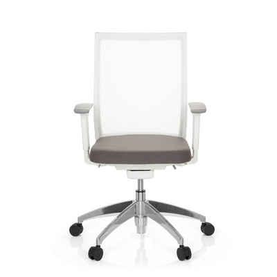 hjh OFFICE Drehstuhl »hjh OFFICE Profi Bürostuhl ASPEN WHITE Büro-Stuhl«