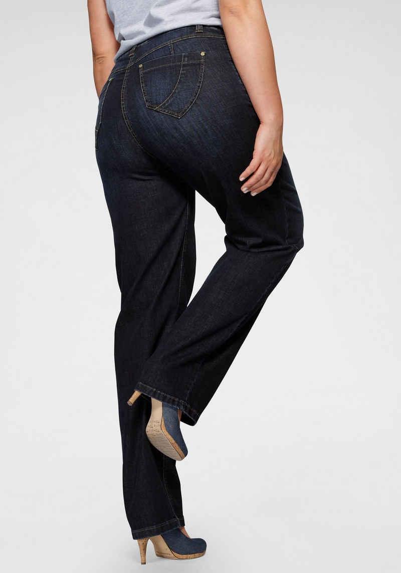 KjBRAND Gerade Jeans »Babsie Shape« mit Shaping-Effekt