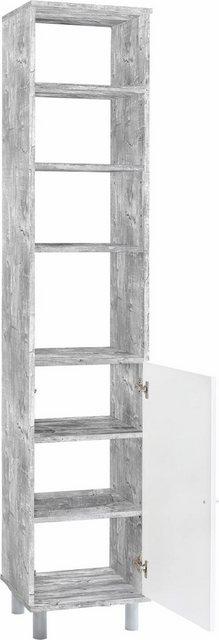 Badschränke - Wilmes Hochschrank »Simply« Badmöbel aus Holzwerkstoff  - Onlineshop OTTO