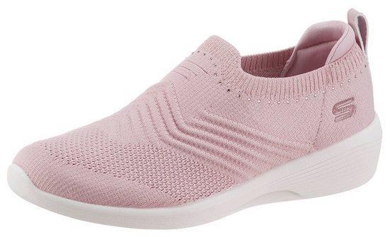 Skechers »ARYA« Slip-On Sneaker mit gepolstertem Fersenteil