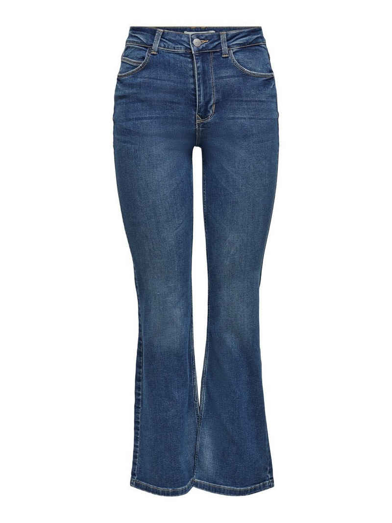 JACQUELINE de YONG Schlagjeans »3658« JDY Damen Flare Jeans Super Stretch Denim Schlaghose JDYNWFLORA