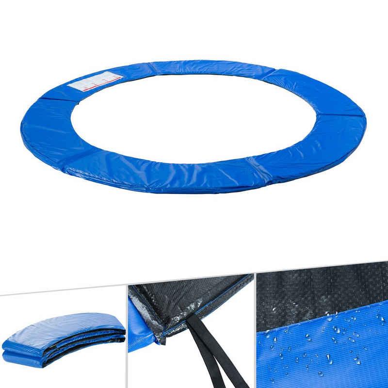Arebos Trampolin-Abdeckplane »Trampolin Randabdeckung / 183, 244, 305, 366, 396, 457 oder 487 cm/ blau« (Trampolin Randabdeckung), Füllung: EPE-Schaum