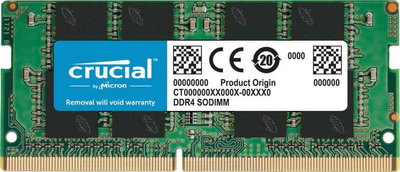 Crucial »16GB DDR4-2666 SODIMM« Laptop-Arbeitsspeicher