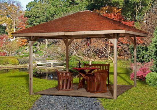 WEKA Pavillon »Paradies 3«, BxT: 433x433 cm
