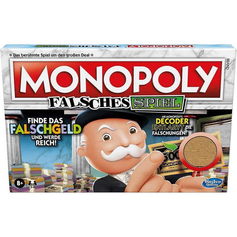 Hasbro Spiel, »Monopoly Falsches Spiel, Brettspiel für Familien«