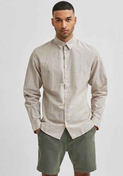 SELECTED HOMME Leinenhemd »NEW-LINEN SHIRT«