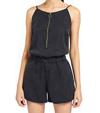 khujo Jumpsuit »khujo Shona Jumpsuit kurzer Damen Sommer-Einteiler im Jeans-Optik Overall Dunkelblau«