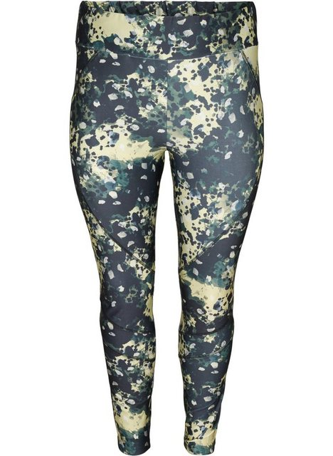Hosen - Active by ZIZZI Trainingstights Große Größen Damen Print 7 8 Länge Stretch ›  - Onlineshop OTTO