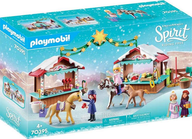 Playmobil® Konstruktions-Spielset »Weihnachten in Miradero (70395), Spirit Riding Free«, (116 St), Made in Germany