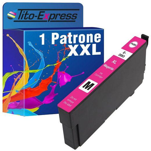 Tito-Express PlatinumSerie »ersetzt Epson T3593 T3583 35XL Magenta (C13T35934010)« Tintenpatrone