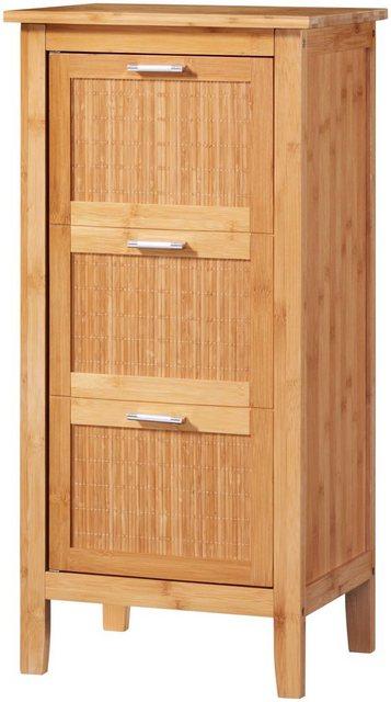 Badschränke - WELLTIME Badunterschrank »Bambus«, Badschrank 40 cm Breite  - Onlineshop OTTO