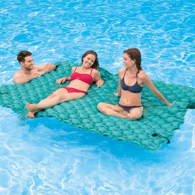 Intex Badeinsel »Intex Luftmatratze Giant Floating Mat 290 x 226 cm 56841EU«