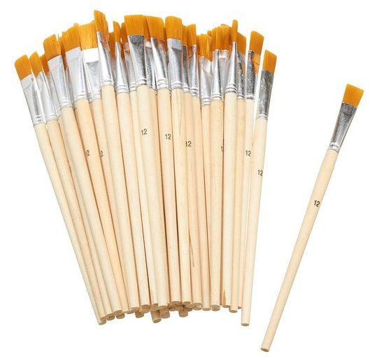 VBS Großhandelspackung Malpinsel »Flachpinsel Synthetikhaar«, Gr. 12