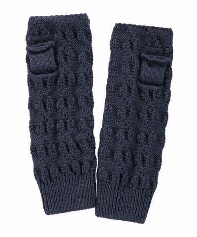 FALKE Strickhandschuhe »Wristlet« mit Alpaka- und Schurwolle