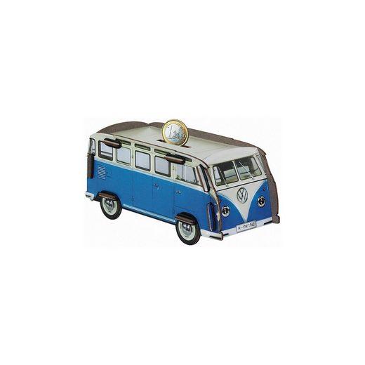 WERKHAUS® Spardose »Twinbox VW-Bus T1 blau«