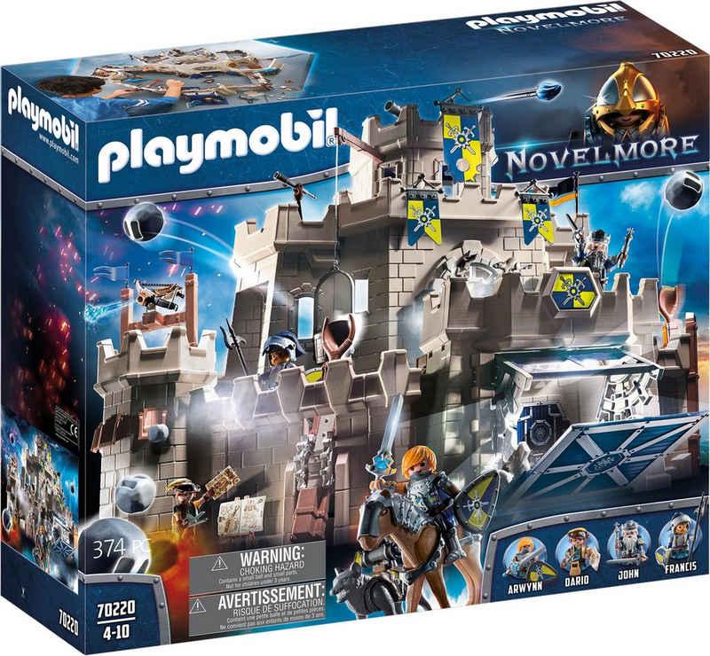 Playmobil® Konstruktions-Spielset »Große Burg von Novelmore (70220), Novelmore«, (374 St), Made in Germany