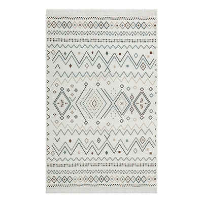Teppich »Teppich Series Waschbarer mit Fransen für das Wohnzimmer«, Gozos, 80x150