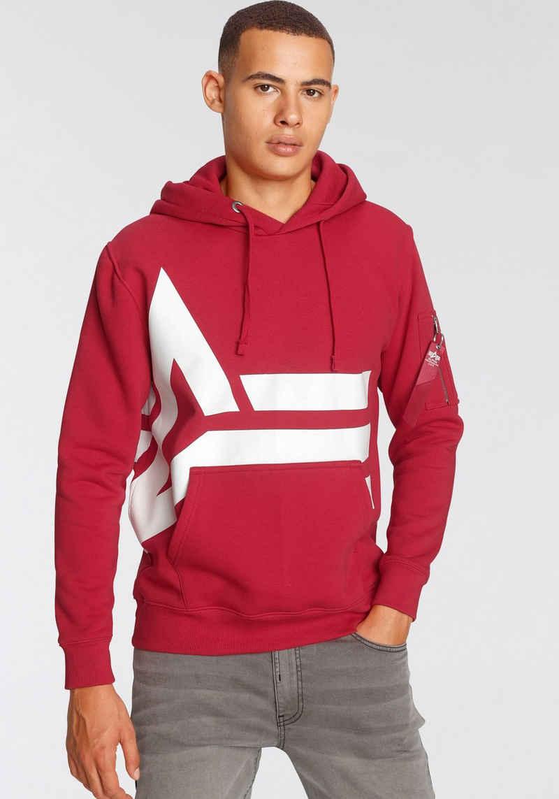 Alpha Industries Kapuzensweatshirt »Alpha Side Logo Hoody«