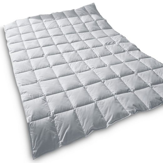 Daunenbettdecke, »Typ EIDERDAUNE Premium Sommerdecke (Wärmegrad 2)«, TraumDaune, Füllung: 100% Wildentenflaum, für Allergiker geeignet