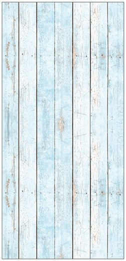 MySpotti Spritzschutz »fresh F3 Wood Light Blue«, 100 x 210 cm