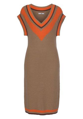 AJC Megzta suknelė su tiefem V-Ausschnitt ...