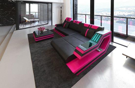 Sofa Dreams Sofa »Ravenna«, L Form