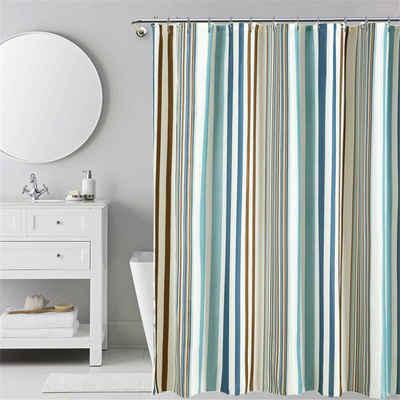 i@home Duschvorhang »hohe Qualität, Anti-Mehltau-Effekt, wasserdicht, Antibakterielle, Beschichtung pflegeleicht, Einfacher Stil« Breite 200 cm, Mit Ringe
