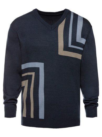 Catamaran V-Ausschnitt-Pullover