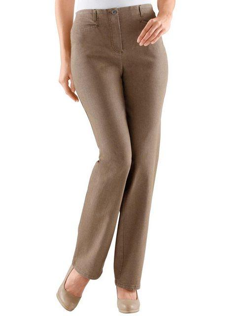 Hosen - Cosma Dehnbund Jeans › braun  - Onlineshop OTTO