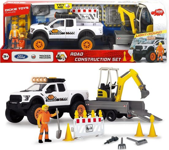 Dickie Toys Spielzeug-Auto »Playlife-Road Construction Set«