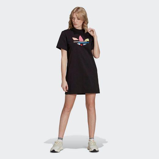 adidas Originals Shirtkleid »adicolor Shattered Trefoil T-Shirt-Kleid«