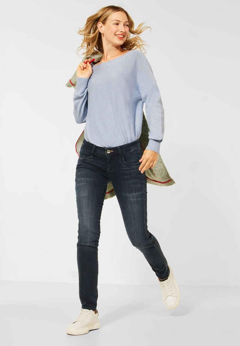 STREET ONE Comfort-fit-Jeans im Denim Look