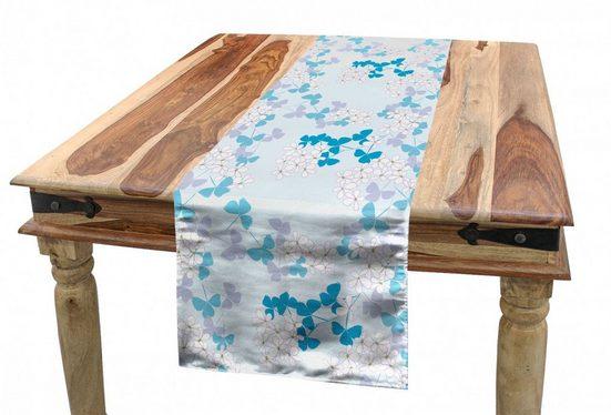 Abakuhaus Tischläufer »Esszimmer Küche Rechteckiger Dekorativer Tischläufer«, Frühling Abstrakte Blumenmuster