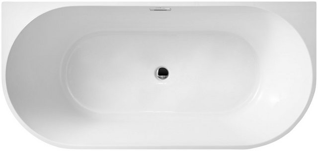 Badewannen und Whirlpools - welltime Badewanne »New Granada«, (2 tlg), B T 170 80 cm, freistehende Wanne  - Onlineshop OTTO