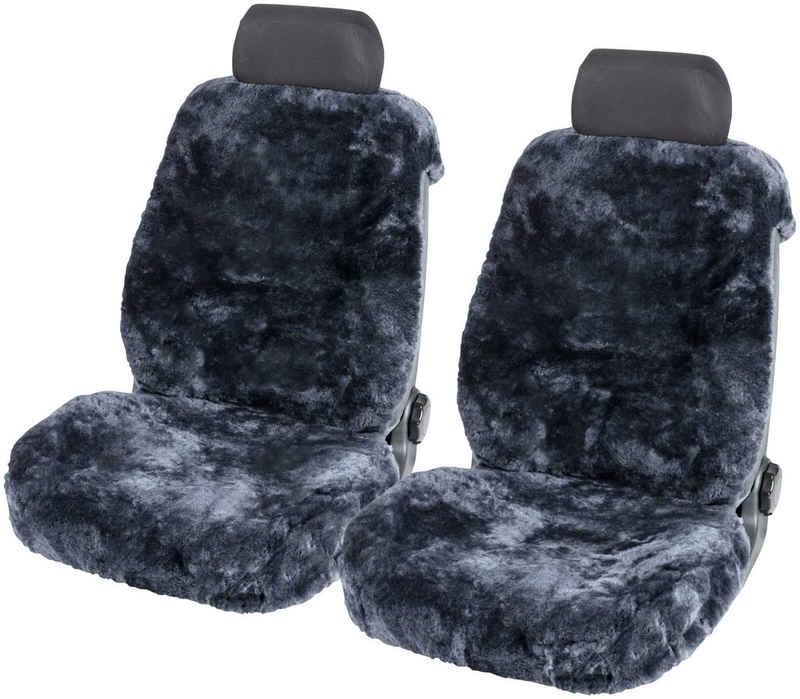 WALSER Autositzbezug »Tiauna«, Set, Doppelkappenfell aus Lammfell