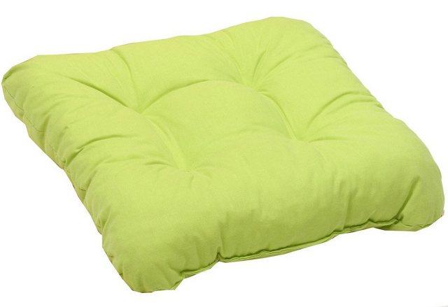 Go-De Set: Sitzkissen (2 Stück) grün