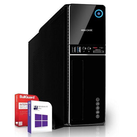 SYSTEMTREFF Mini Edition 90103 Mini-PC (AMD Athlon 3000G AMD Athlon 3000G, Radeon RX Vega3 3-Core Grafikchip, 8 GB RAM, 512 GB SSD)